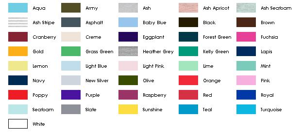 kohler toilet colors chart
